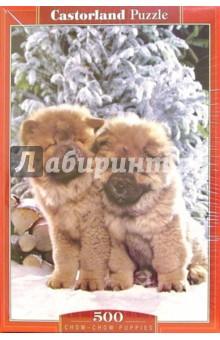 Puzzle-500. Щенки эскимос. овчарки (В-50413)