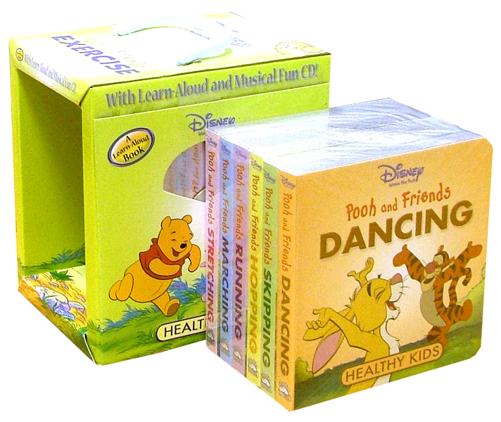 Иллюстрация 1 из 2 для Pooh and Friends Exercise (6 книг + CD) | Лабиринт - книги. Источник: Лабиринт