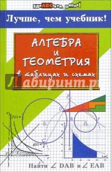 Алгебра и геометрия в таблицах и схемах: лучше, чем учебник