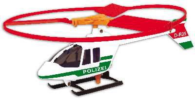 Иллюстрация 1 из 2 для 1684 Вертолет с запускающим устройством Police copter (36х27 см) | Лабиринт - книги. Источник: Лабиринт