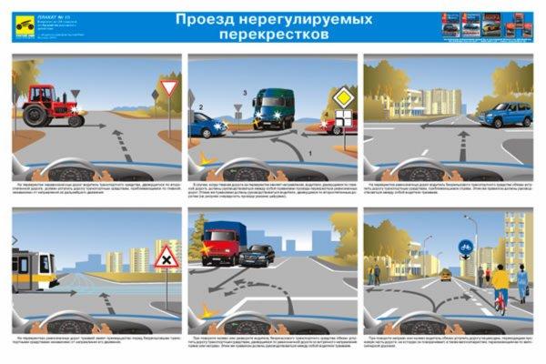 Правила дорожного движения комплект