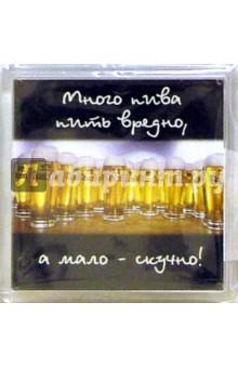 Магнитные подарочки. Много пить пива вредно... (М-266)