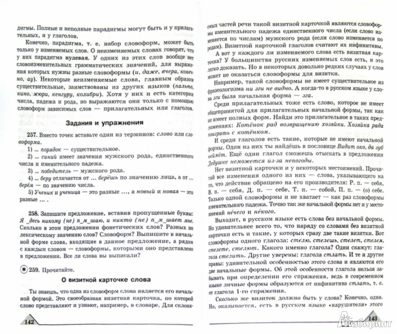 Русский язык класс гдз репкин 6