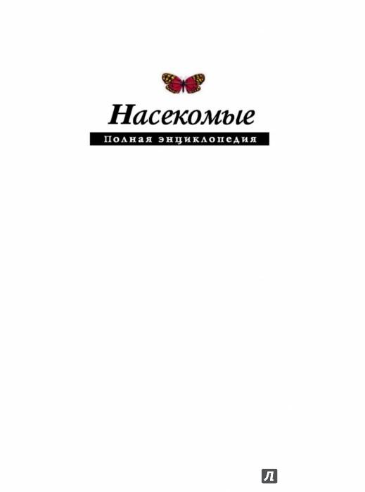 Иллюстрация 1 из 29 для Насекомые. Полная энциклопедия | Лабиринт - книги. Источник: Лабиринт