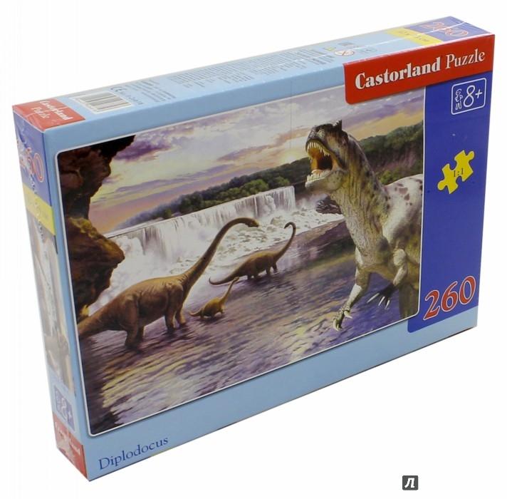 """Иллюстрация 1 из 9 для Puzzle-260 """"Динозавры-2"""" (В-26616)   Лабиринт - игрушки. Источник: Лабиринт"""