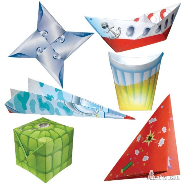 Иллюстрация 1 из 12 для Оригами для мальчишек (АБ 11-410) | Лабиринт - игрушки. Источник: Лабиринт