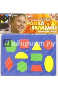Мозаика. Рамка - геометрические фигуры (043021)