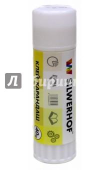 Клей-карандаш 40 грамм (PVP 436440) Silwerhof