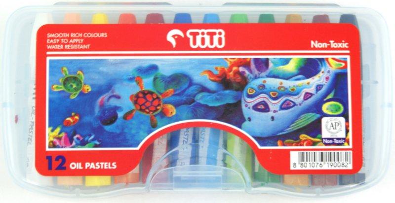 Иллюстрация 1 из 3 для Мелки пастельные на масляной основе, цветные. 12 штук (TI-P-12s)   Лабиринт - канцтовы. Источник: Лабиринт
