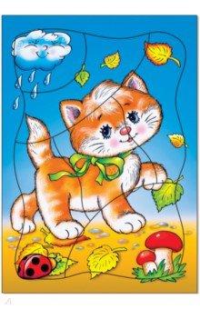 """Развивающая рамка """"Котёнок"""" (1197)"""