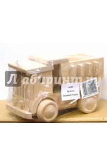 Самосвал: Сборная модельМашины-игрушки<br>Игрушка деревянная - самосвал.<br>Изготовлено из натуральной древесины.<br>Не окрашено и не лакировано.<br>Размер: 182х121 мм.<br>Упакована в картонную коробку.<br>Для детей дошкольного возраста.<br>Производство: Китай.<br>