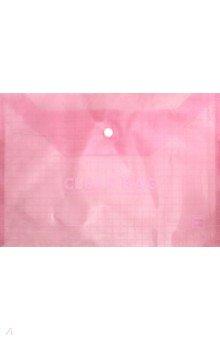 Папка-конверт на кнопке, А4 (красная) (CY209-10-R)