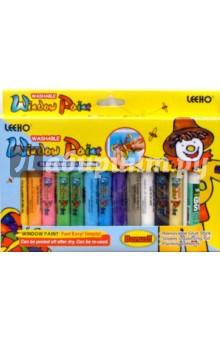 Клей для витража 10,5 граммов 12 цветов (WP-10SE-12) LEEHO