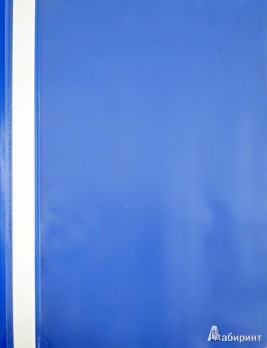 Иллюстрация 1 из 5 для Папка-скоросшиватель А4 синяя | Лабиринт - канцтовы. Источник: Лабиринт