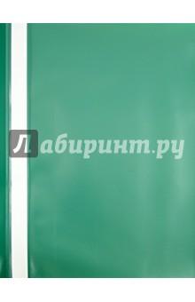 Папка-скоросшиватель А4 зеленая Ле Флэш