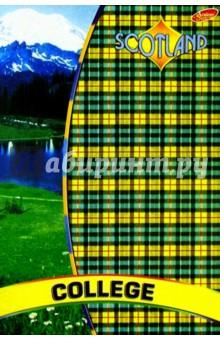 Тетрадь 80 листов А4 Евросп. 812-814 (Шотландка)