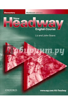Headway New Elementary (Workbook with key)