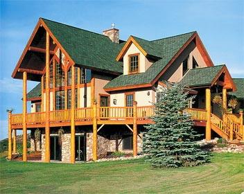 Иллюстрация 1 из 6 для Комбинированные деревянные дома - Роббин Обомсавин   Лабиринт - книги. Источник: Лабиринт