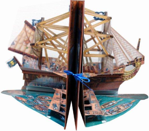 Иллюстрация 1 из 19 для Книжка-карусель. Корабль пиратов - Робин Райт | Лабиринт - книги. Источник: Лабиринт