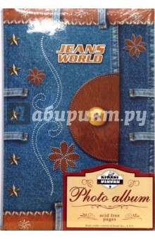 Фотоальбом 46300CPPBB Jeans World (5781)