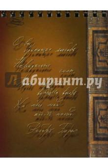 Блокнот 40 листов Рукописи (21523)