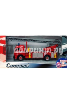 Пожарная машина с сиреной и мигалкой (911)