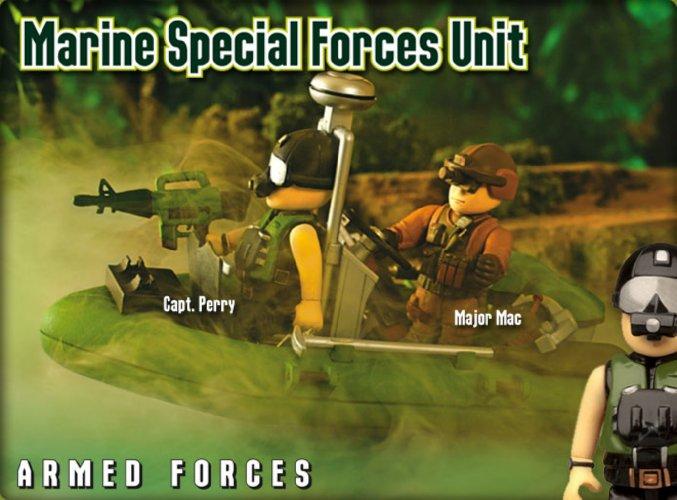 Иллюстрация 1 из 3 для Военно-морское подразделение (8598)   Лабиринт - игрушки. Источник: Лабиринт