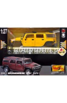 Хаммер Н2 SUV 2002 1:24 (39231)