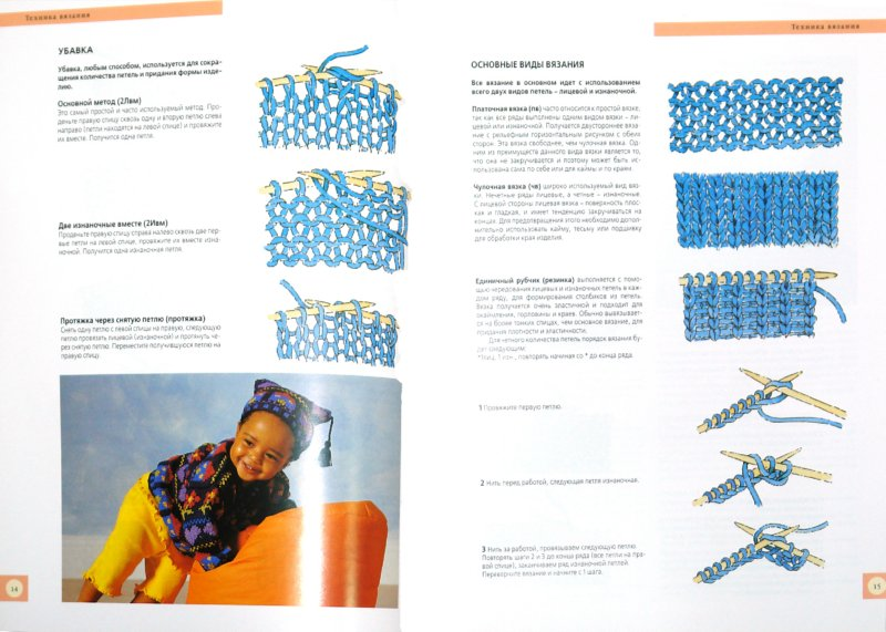 Иллюстрация 1 из 5 для Вязание спицами для самых маленьких - Фиона Мак-Таг | Лабиринт - книги. Источник: Лабиринт