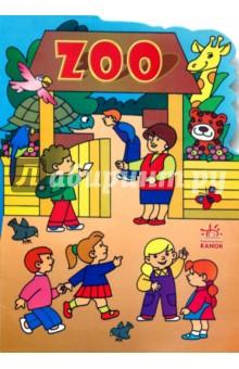 Книжка с наклейками: ZOO