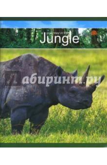 Тетрадь А5 48л 07294 Африканские животные