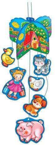 Иллюстрация 1 из 5 для Мобиль. Веселый дворик | Лабиринт - игрушки. Источник: Лабиринт