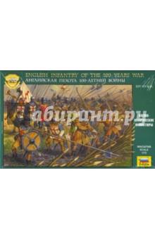 Английская пехота 100-летней войны XIX-XV A.D. (8060)Пластиковые модели: Солдаты<br>Английская армия времен Столетней войны (1337-1453гг) отличалась высокой дисциплиной и четкой организацией. Главной ее боевой силой была пехота, в основном состоявшая из лучников, которых прикрывали спешенные рыцари. На поле боя многочисленные отряды английских лучников выходили в плотном построении, в котором особенно ценились не точность, а скорострельность (до 10-12 выстрелов в минуту). Длинные луки и отличная выучка стрелков принесли Англии знаменитые победы над элитной французской армией - конными рыцарями, закованными в тяжелую броню - в битвах при Кресси, Пуатье, Азенкуре и др. широко использовали английские лучники против своих конных противников и полевые заграждения: колья, вбитые в землю, канавы, волчьи ямы. <br>Набор состоит из 45 неокрашенных фигур.<br>Масштаб: 1:72.<br>Не рекомендуется детям до 3 лет.<br>Сделано в России.<br>