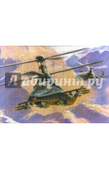 """Развивающие рамки. Вертолет Ка-58 """"Черный призрак"""""""