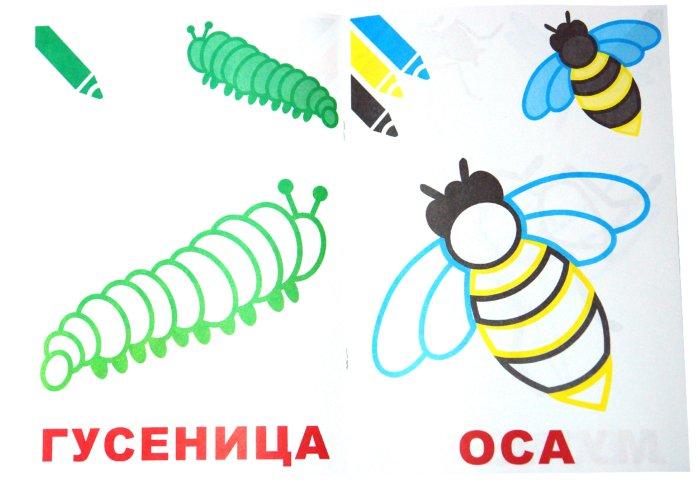 Иллюстрация 1 из 9 для Маленький художник. Насекомые. Выпуск 12 | Лабиринт - книги. Источник: Лабиринт
