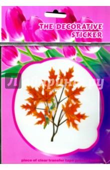 Наклейка Dеcorative Sticker (12,5х13см) декоративная, объемная. В ассортименте