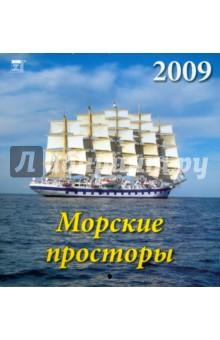 Календарь 2009 Морские просторы (30815)