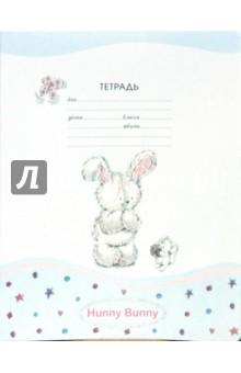 Тетрадь 24 листа (3085, 86, 87, 88) Hunny Bunny