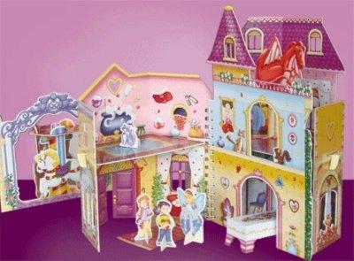 Иллюстрация 1 из 8 для Домик для феи. Книжка-игрушка с наклейками | Лабиринт - книги. Источник: Лабиринт