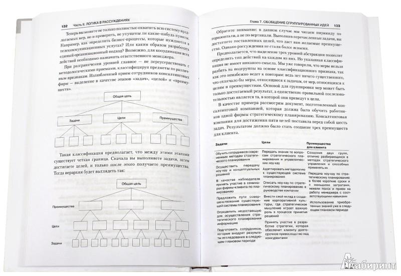 Иллюстрация 1 из 12 для Принцип пирамиды Минто. Золотые правила мышления, делового письма и устных выступлений - Барбара Минто   Лабиринт - книги. Источник: Лабиринт