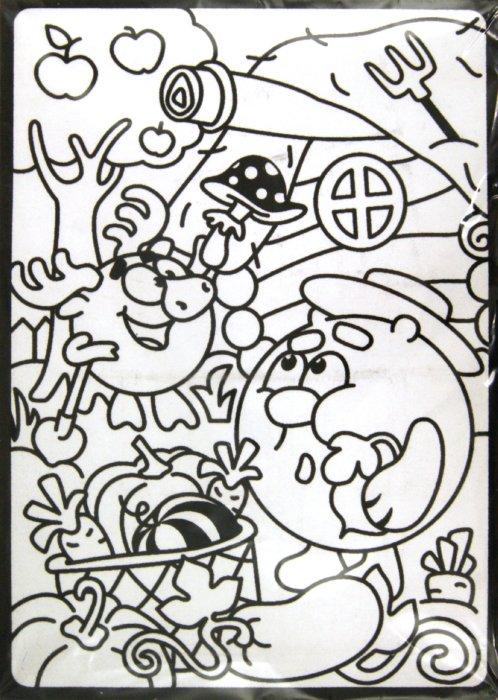 Иллюстрация 1 из 2 для Бархатная картинка. Копатыч в огороде | Лабиринт - игрушки. Источник: Лабиринт