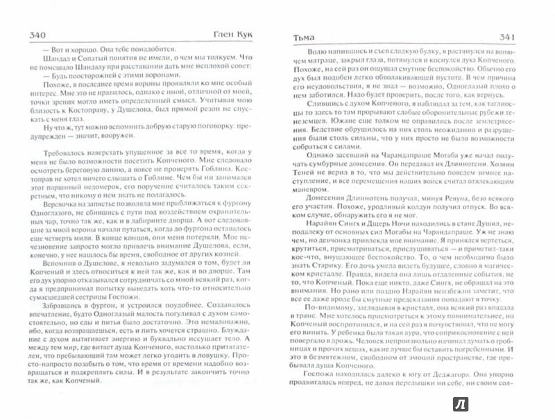 Иллюстрация 1 из 18 для Суровые времена. Тьма - Глен Кук | Лабиринт - книги. Источник: Лабиринт