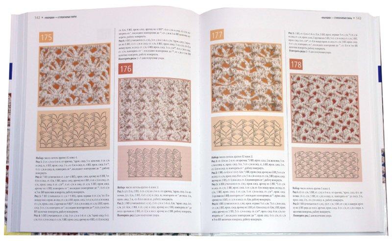 Пошаговое вязание крючком узоров