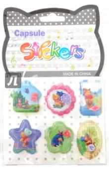 Наклейки детские Capsule Sticker капсула с фигуркой