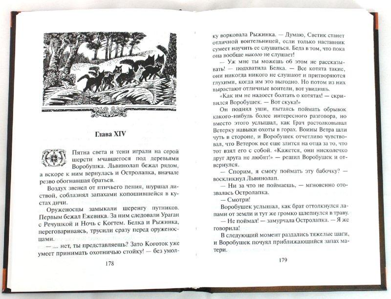 Иллюстрация 1 из 14 для Отверженные - Эрин Хантер | Лабиринт - книги. Источник: Лабиринт