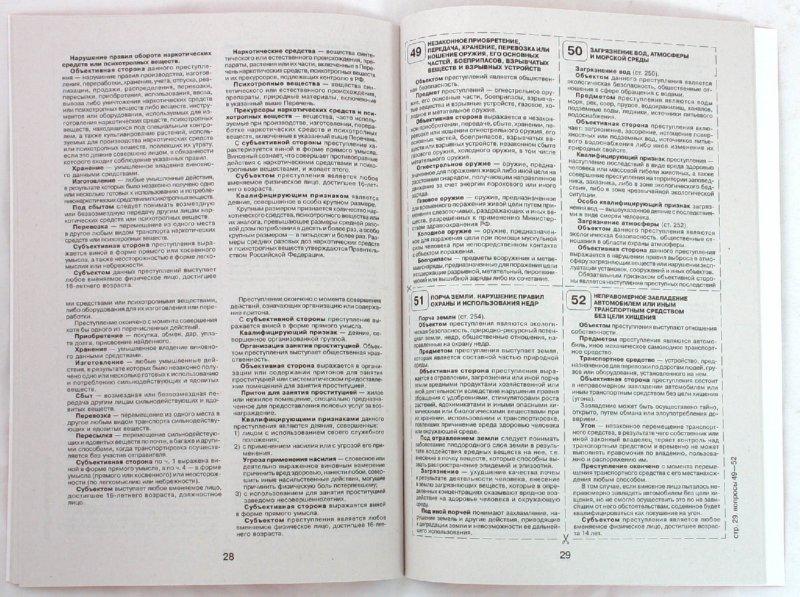 шпаргалки по уголовному праву 81 вопрос с ответом