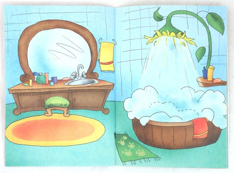 """Иллюстрация 1 к игрушке  """"Бумажная кукла с домиком.  Кошечка Леся """", фотография, изображение, картинка."""