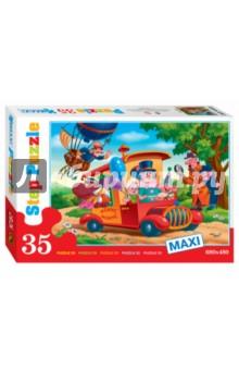 Step Puzzle-35 MAXI Фунтик (91300)Пазлы (Maxi)<br>Игра-мозаика.<br>Пазл состоит из 35 элементов.<br>Размер собираемой картинки: 680х480 мм.<br>Срок годности не ограничен.<br>Не рекомендовано детям до 3-х лет.<br>Содержит мелкие детали.<br>Производитель: Россия.<br>