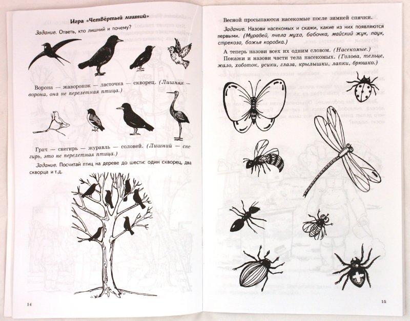 Иллюстрация 1 из 6 для Весна: задания по развитию речи у детей дошкольного возраста - Татьяна Чохонелидзе   Лабиринт - книги. Источник: Лабиринт