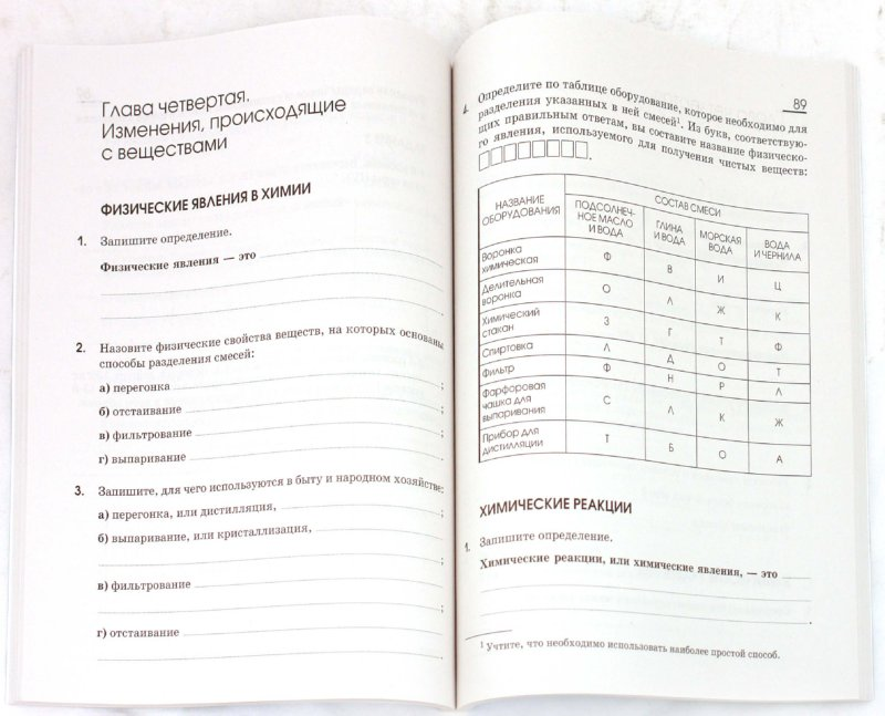 Гдз По Химии 10 Класс Рабочая Тетрадь